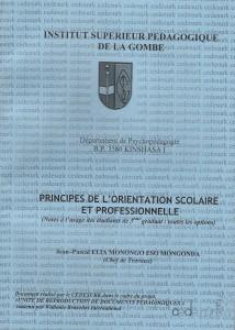 Principes de l'orientation scolaire et professionnelle dans Compte rendu couverture-elia-214x300